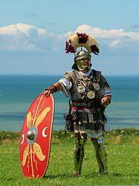 Eroico gesto di un centurione