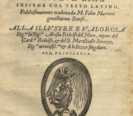 """Petrarca – Le opere """"umanistiche"""""""