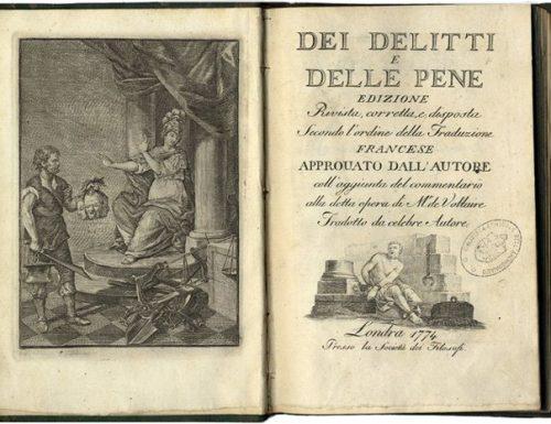 """Contro la tortura e la pena di morte, verso un governo """"illuminato"""" dello Stato"""