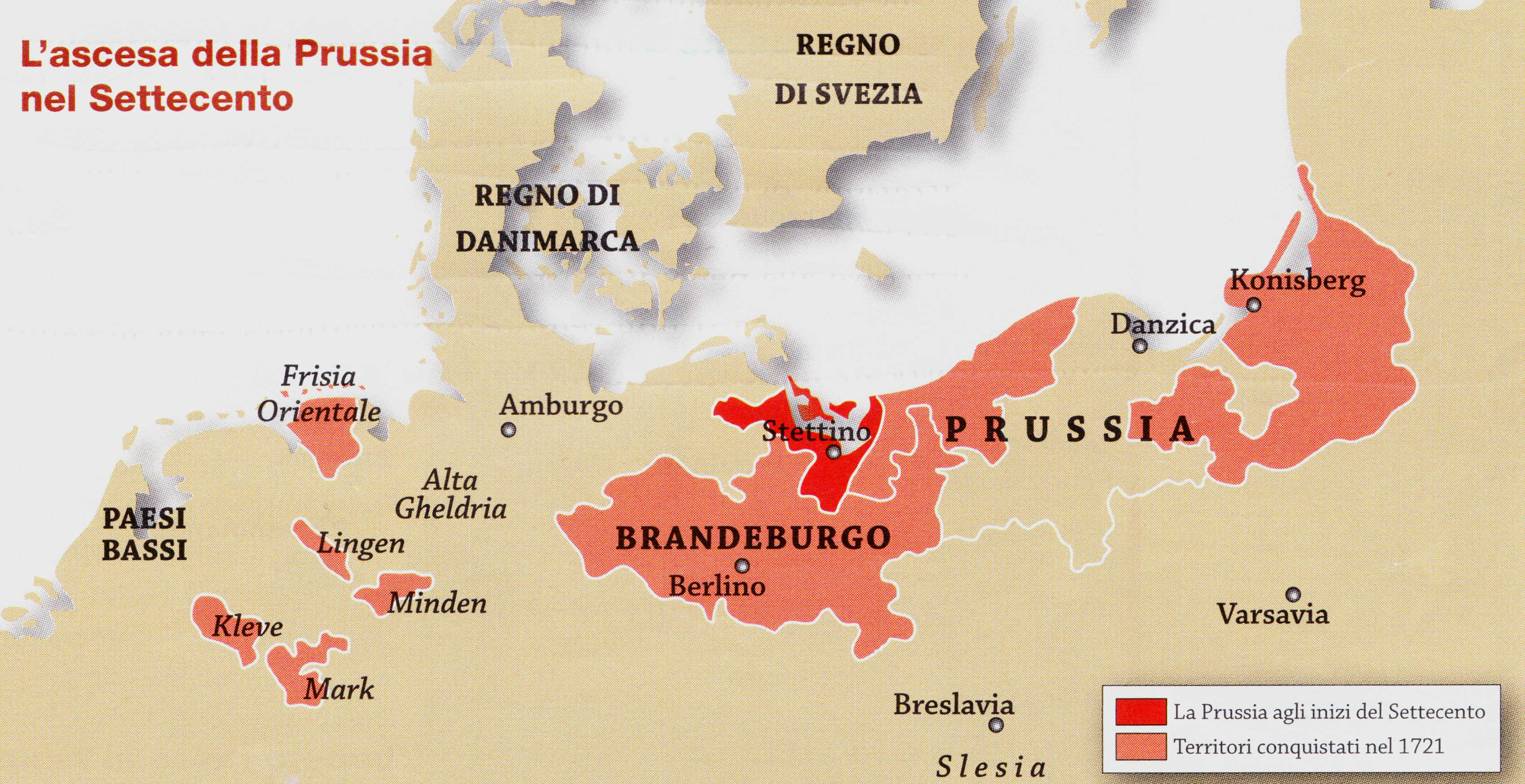 L'ascesa della Prussia nel Settecento