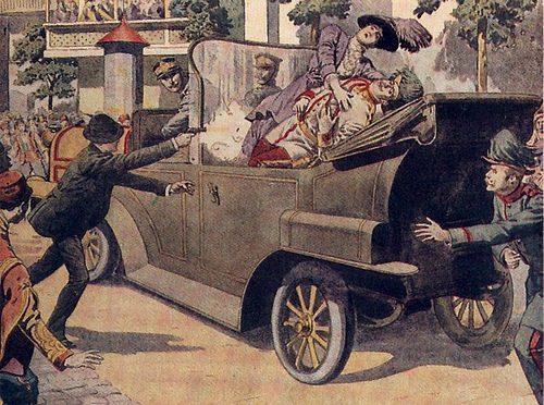 La crisi del luglio 1914 che portò alla Prima Guerra Mondiale